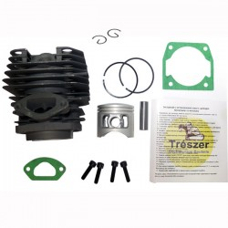 Cylinder and piston kit Trészer Chainsaw 4500, 43mm