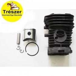 Cylinder and piston kit Trészer Chainsaw Hu 136, 137, 142, 40mm