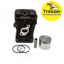 Cylinder and piston kit Trészer Chainsaw JO CS2137, CS2138, Partner, Poulan, 41mm